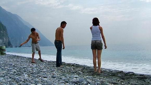 拍攝地點╱花蓮新城海灘